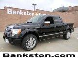 2011 Ebony Black Ford F150 Platinum SuperCrew #57872265