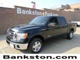 2011 Ebony Black Ford F150 XLT SuperCrew #57872260