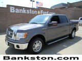 2011 Sterling Grey Metallic Ford F150 Lariat SuperCrew #57872257