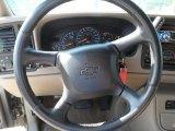 2001 Chevrolet Silverado 1500 LS Crew Cab Steering Wheel