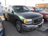 2005 Polo Green Metallic GMC Sierra 1500 Regular Cab 4x4 #57872246