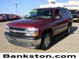 2005 Sport Red Metallic Chevrolet Tahoe LS #57872175