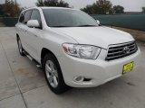 2010 Blizzard White Pearl Toyota Highlander Limited #57875053