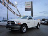 2009 Stone White Dodge Ram 1500 ST Regular Cab 4x4 #58090242
