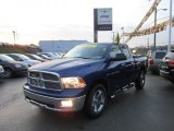 2011 Deep Water Blue Pearl Dodge Ram 1500 Big Horn Quad Cab 4x4 #58090241
