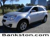 2010 Silver Ice Metallic Chevrolet Equinox LT #57872141
