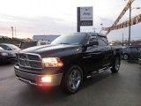 2010 Brilliant Black Crystal Pearl Dodge Ram 1500 Big Horn Crew Cab 4x4 #58090239