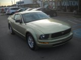 2005 Legend Lime Metallic Ford Mustang V6 Deluxe Coupe #57875039