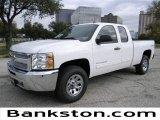 2012 Summit White Chevrolet Silverado 1500 LS Extended Cab 4x4 #57872104