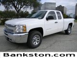 2012 Summit White Chevrolet Silverado 1500 LS Extended Cab 4x4 #57872102