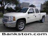2012 White Diamond Tricoat Chevrolet Silverado 1500 LT Crew Cab #57872092