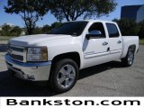 2012 Summit White Chevrolet Silverado 1500 LT Crew Cab #57872088