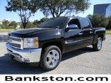 2012 Black Chevrolet Silverado 1500 LT Crew Cab #57872086