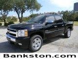 2011 Black Chevrolet Silverado 1500 LT Crew Cab #57871999
