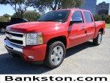 2011 Victory Red Chevrolet Silverado 1500 LT Crew Cab #57871996