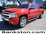 2011 Victory Red Chevrolet Silverado 1500 LT Crew Cab #57871993