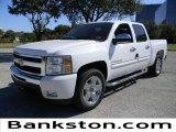 2011 Summit White Chevrolet Silverado 1500 LT Crew Cab #57871992