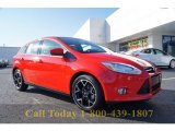 2012 Race Red Ford Focus SE Sport 5-Door #57874965