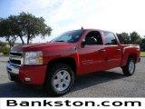 2011 Victory Red Chevrolet Silverado 1500 LT Crew Cab 4x4 #57871987