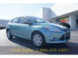 2012 Frosted Glass Metallic Ford Focus SE 5-Door #57874964