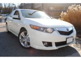 2010 Premium White Pearl Acura TSX V6 Sedan #57874942