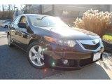 2009 Crystal Black Pearl Acura TSX Sedan #57874941