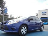 2012 Sonic Blue Metallic Ford Focus S Sedan #58090105