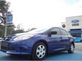 2012 Sonic Blue Metallic Ford Focus S Sedan #58090105