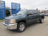 2012 Blue Granite Metallic Chevrolet Silverado 1500 LT Crew Cab 4x4 #58238673