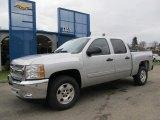 2012 Silver Ice Metallic Chevrolet Silverado 1500 LT Crew Cab 4x4 #58238671