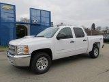2012 Summit White Chevrolet Silverado 1500 LS Crew Cab 4x4 #58238670