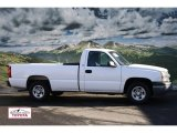2004 Summit White Chevrolet Silverado 1500 LS Regular Cab #58089893