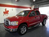 2007 Flame Red Dodge Ram 1500 ST Quad Cab #58089853