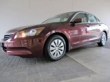 2011 Basque Red Pearl Honda Accord LX Sedan #58239331