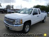 2012 Summit White Chevrolet Silverado 1500 LT Extended Cab #58089829