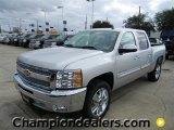 2012 Silver Ice Metallic Chevrolet Silverado 1500 LT Crew Cab #58089828