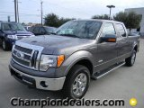 2011 Sterling Grey Metallic Ford F150 Lariat SuperCrew 4x4 #58089820