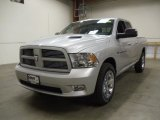 2012 Bright Silver Metallic Dodge Ram 1500 Sport Quad Cab 4x4 #58239282