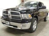 2012 Black Dodge Ram 1500 Big Horn Quad Cab 4x4 #58239281