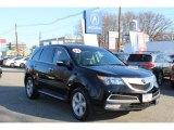 2011 Crystal Black Pearl Acura MDX Technology #57969395