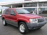 2002 Inferno Red Tinted Pearlcoat Jeep Grand Cherokee Laredo #58239264