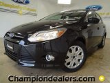 2012 Tuxedo Black Metallic Ford Focus SE Sedan #58238555