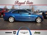 2001 Topaz Blue Metallic BMW 3 Series 330i Coupe #57969362