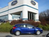 2012 Blue Candy Metallic Ford Focus SE 5-Door #58238514