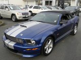 2008 Ford Mustang Vista Blue Metallic