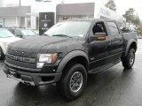 2011 Ebony Black Ford F150 SVT Raptor SuperCrew 4x4 #58238475