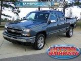 2007 Blue Granite Metallic Chevrolet Silverado 1500 Classic LS Crew Cab #58239173