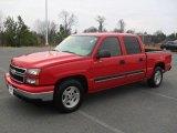 2006 Victory Red Chevrolet Silverado 1500 LT Crew Cab #58239154