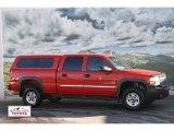 2003 Fire Red GMC Sierra 2500HD SLT Crew Cab 4x4 #58238393