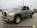 2006 Mineral Gray Metallic Dodge Ram 1500 SLT Quad Cab #58238367